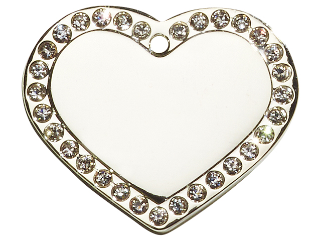 iMARC Glamour Heart Silver