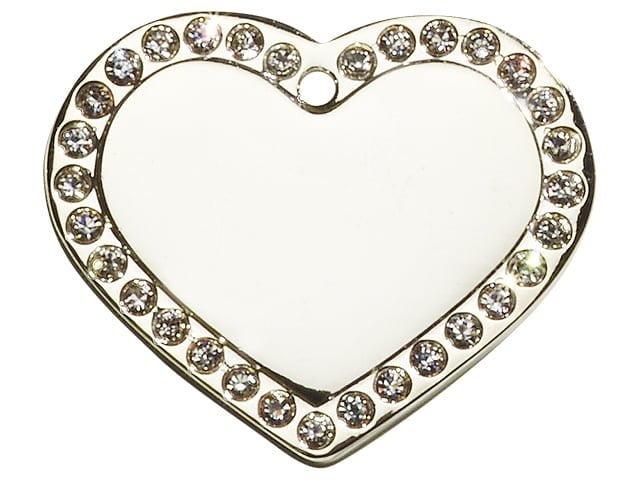 iMARC Glamor Heart Silver