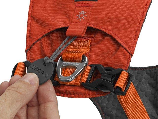 Ruffwear Hi & Light sele, orange