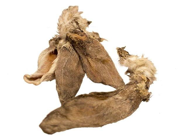 Tikki Kaninører med pels, 5kg