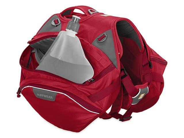 Ruffwear Palisades rygsæk rød