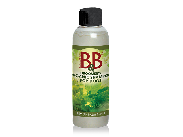 B&B økologisk shampoo med 2 i 1 melisse