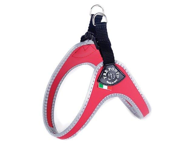 THREE PONTI Mini Harness, red