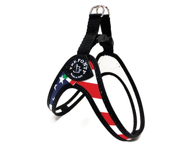 THREE PONTI Mini Harness, American flag