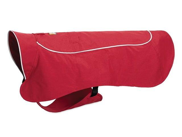 Ruffwear Aira Regnfrakke, rød