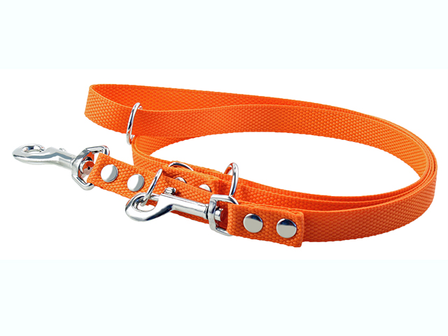 Fenriz dressurline, nylon, orange