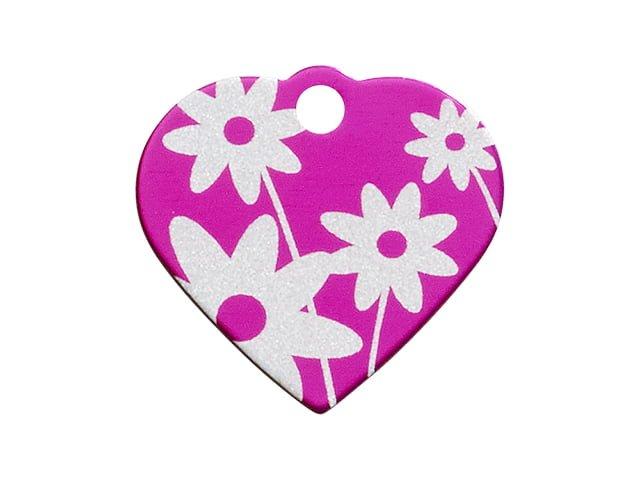 iMARC hjerte daisy flower, pink
