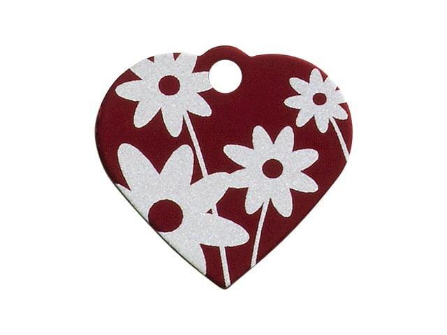 iMARC hjerte daisy flower, rød