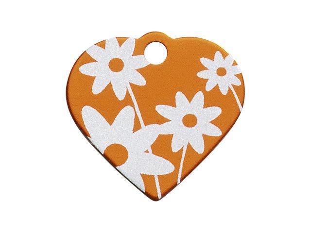 iMARC hjerte daisy flower, orange