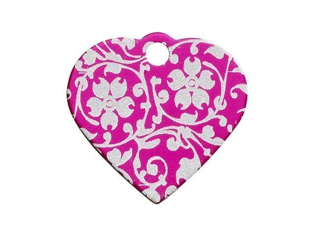 iMARC hjerte ornate flower, pink