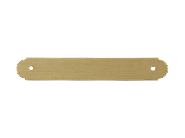 iMARC Saddle Plate Brass
