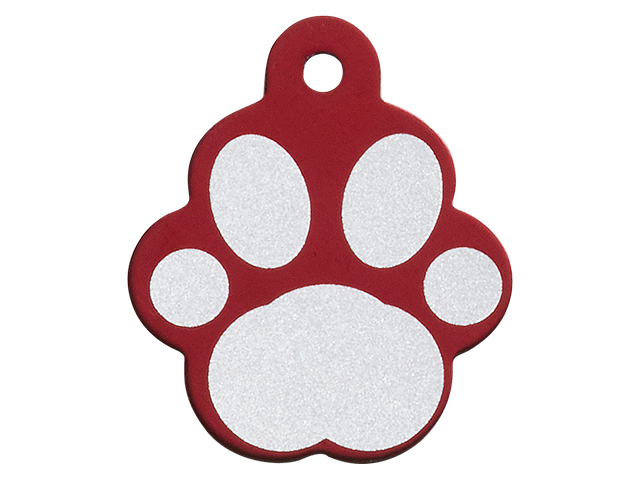 iMARC Large Red Paw