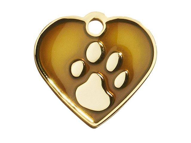 iMARC heart elegance brown gold