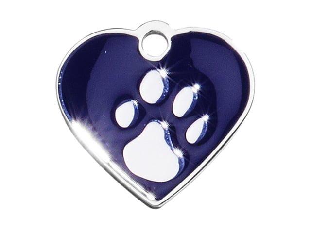 iMARC heart elegance blue silver