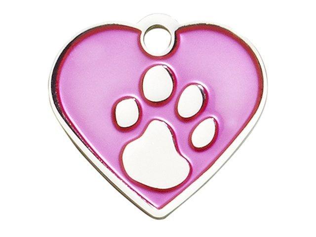 iMARC heart elegance, pink silver