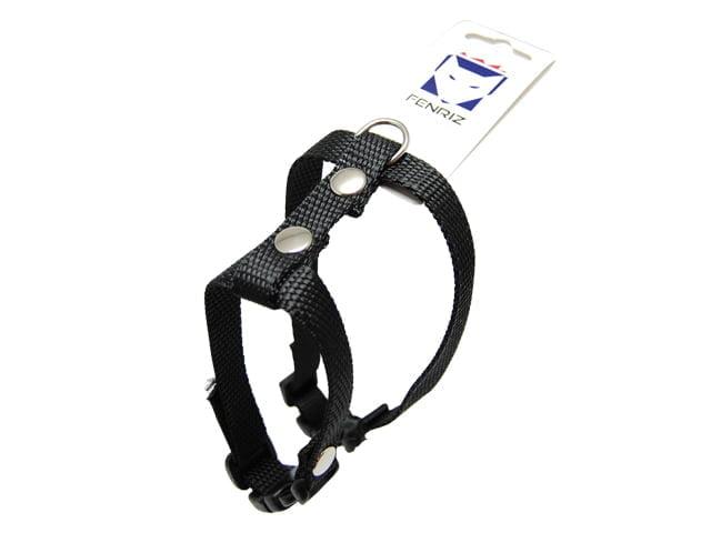 Fenriz cat harness, 25-45cm / 1.5cm, black