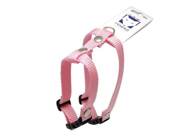 Fenriz cat harness, 25-45cm / 1.5cm, pink