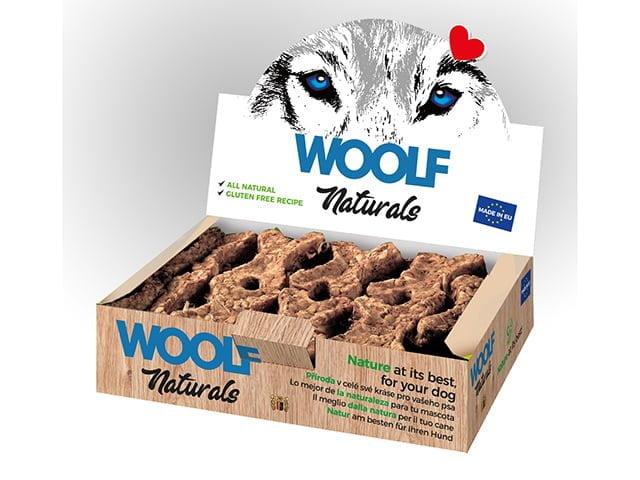 Woolf Natural Bone Beef/Veggie/Glukosamin, 30stk.