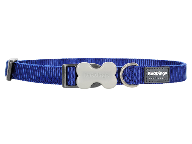 Red Dingo necklace, classic blue