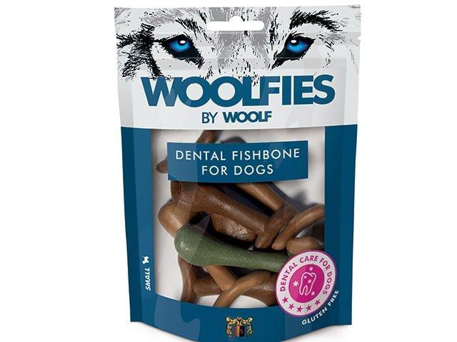 Woolfies Dental Fishbone Small 200g