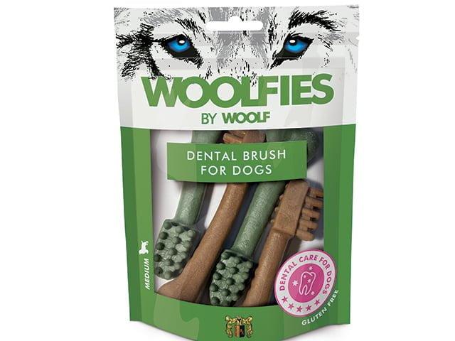 Woolfies Dental Brush Medium, 200g