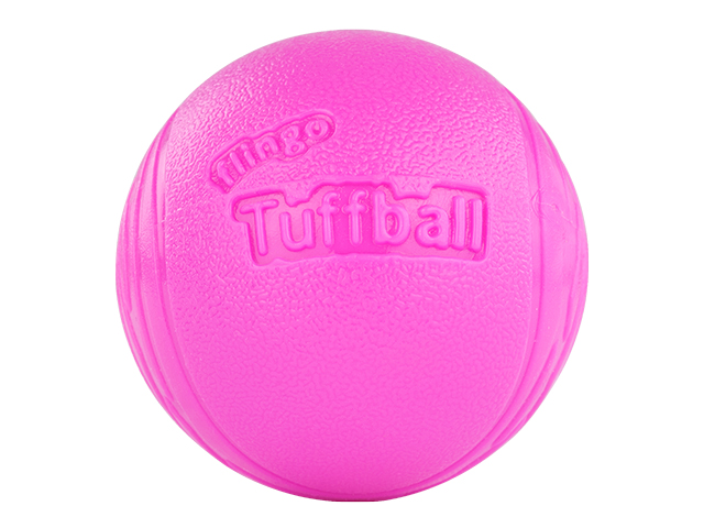 Red Dingo Flingo Tuff Ball, pink, 2stk.