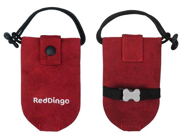 Red Dingo taske til høm høm poser, rød