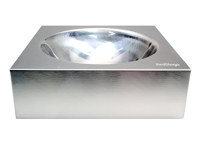 Red Dingo stainless steel bowl