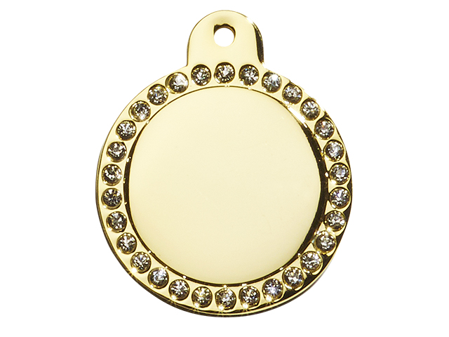 iMARC cirkel glamour, guld