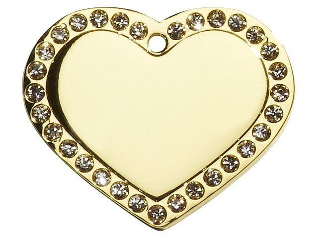 iMARC hjerte glamour, guld