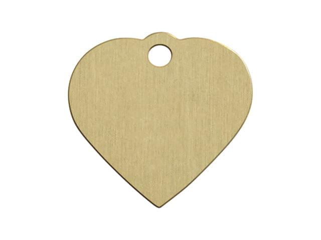iMARC heart brass