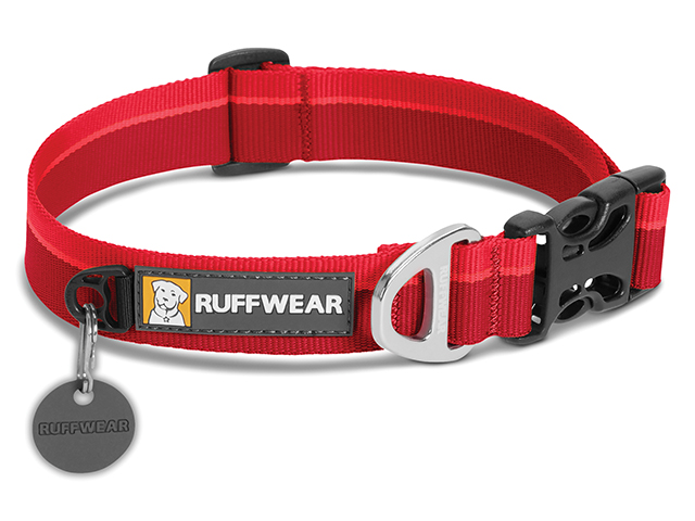 Ruffwear Hoopie necklace, red