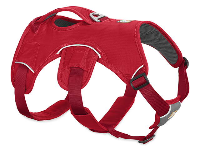 Ruffwear Web Master sele, rød