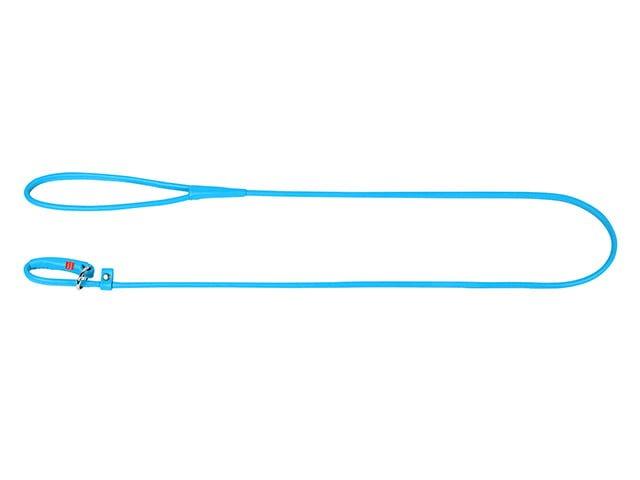 Waudog rundsyet læder udstillingsline, blå