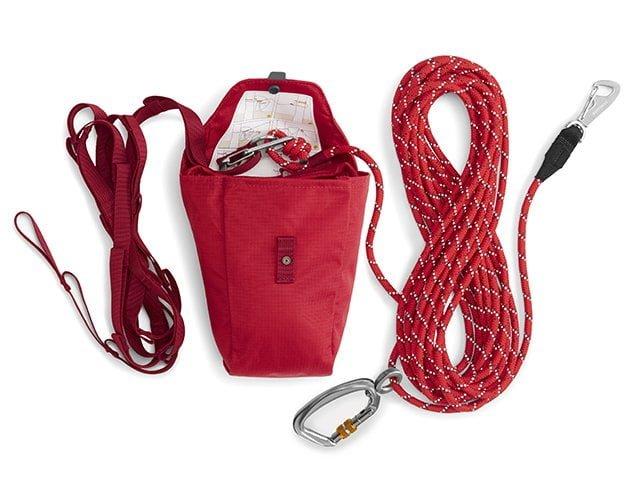 Ruffwear Knot-A-Hitch, rød