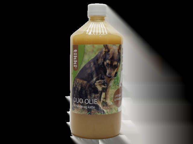 Tikki Duo olie (lakseolie & fårefedt), 1l