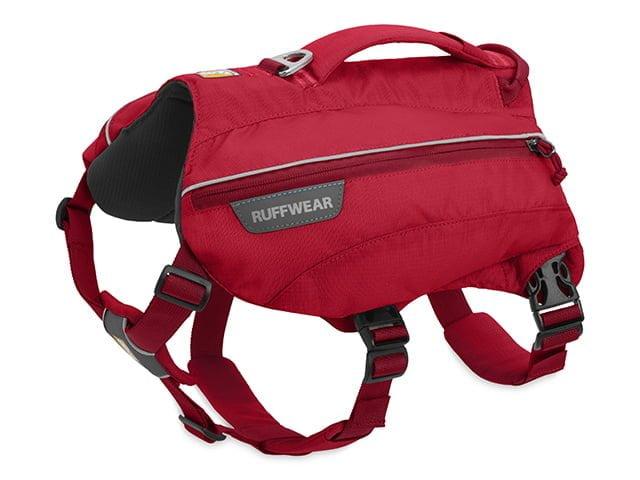 Ruffwear Singletrak backpack, red