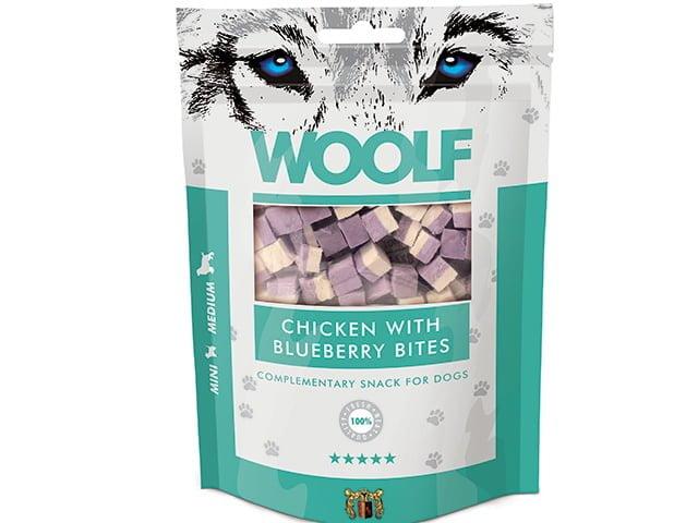 Woolf Chicken with Blueberry Bites 100g