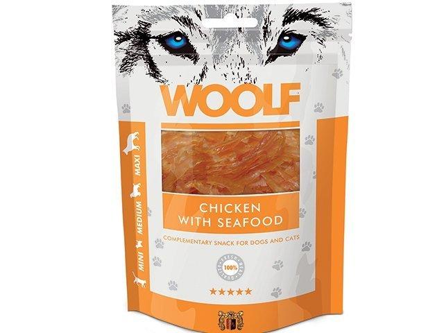Woolf Chicken Seafood 100g