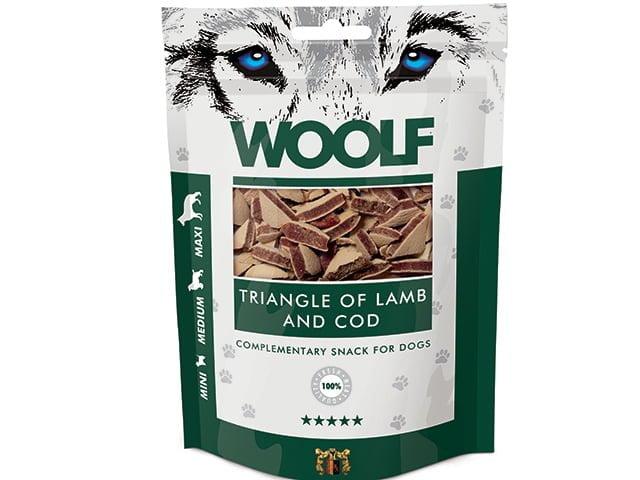 Woolf Lamb & Cod Triangle 100g