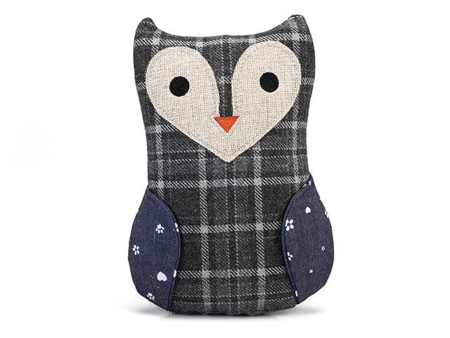 DBL Textile owl, 23.5cm