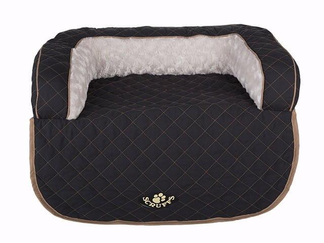 Scruffs Wilton sofa seng, sort