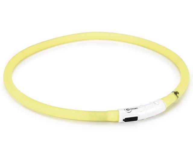 Safety Gear light collar, yellow