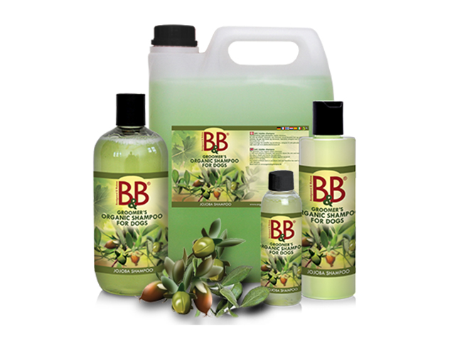 B&B økologisk shampoo med jojoba