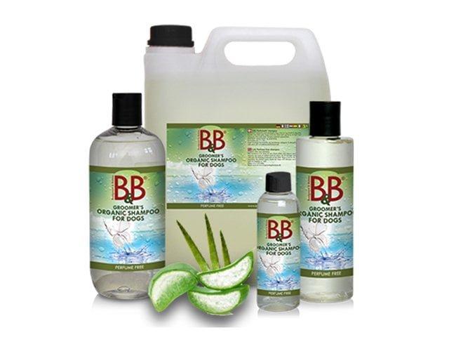 B&B økologisk shampoo parfumefri