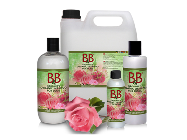 B&B Conditioner med rose