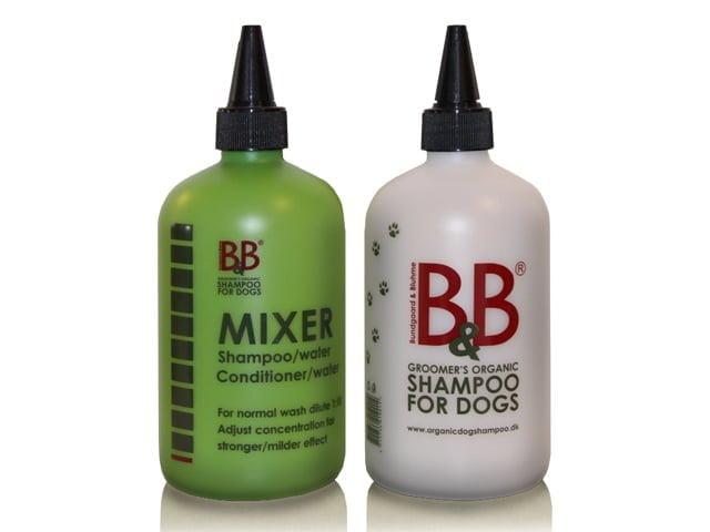 B&B Mixer Flaske, hvid