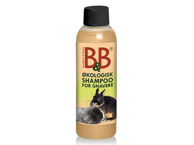 B&B rodent shampoo with rosehip and jasmine, 100ml