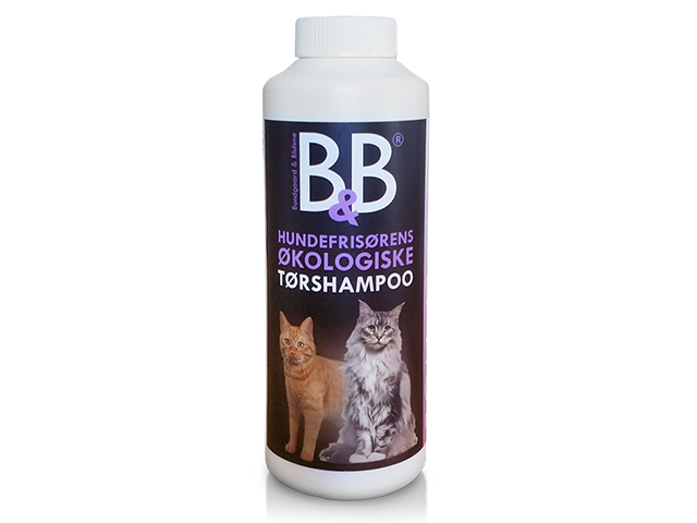 B&B tørshampoo med viol (til kat)
