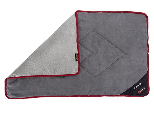 Scruffs Thermal tæppe, 110×75, sort